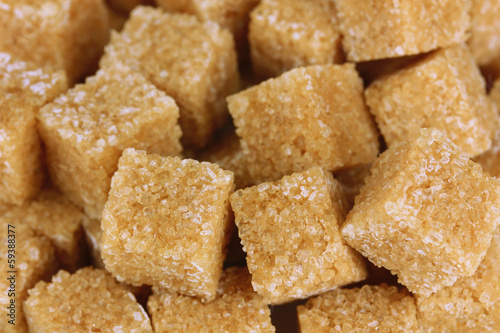 Brown sugar close-up