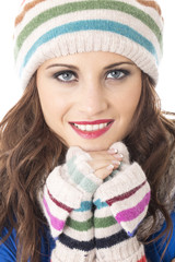 Model Released. Attractive Young Woman Smiling