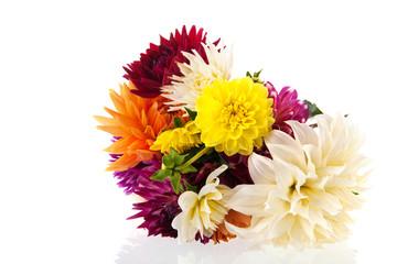 Bouquet Dahlias