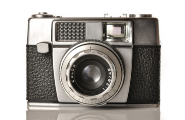 Vieja cámara fotográfica