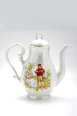Porcelain tea-kettle