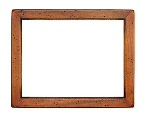 Flat plain wooden Picture Frame