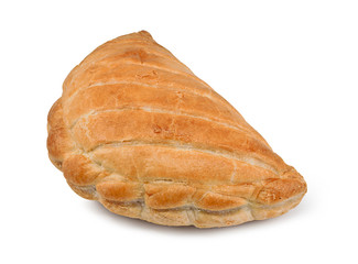 Cornish pasty isolated