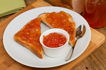 Marmalade on toast
