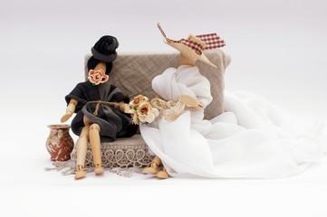 Il pettegolezzo nel giorno del matrimonio