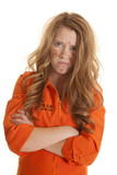Woman inmate dirty mad