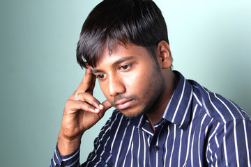 Dipressed Indian Men