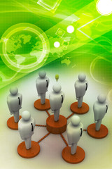 Network with people