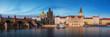 canvas print picture - Charles Bridge in the Prague