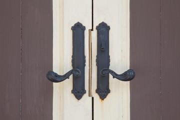 Door wood vintage