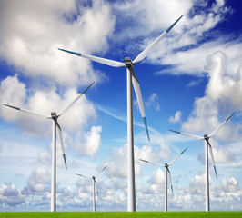 Wind energy farm