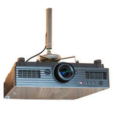 Presentation with lcd projector