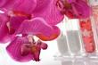 Orchidee mit Badezusatz Scented Bath Salts