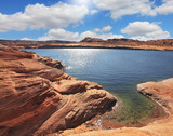 The Lake Powell  by Fisheye lens