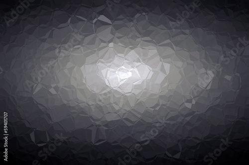 Glowing textured mosaic pattern H. Abstract background.