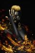 fiery black woman