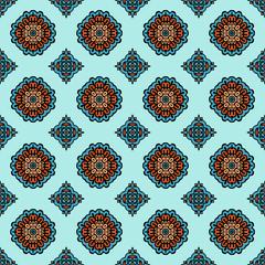 Geometric  gift wrap  seamless vector pattern