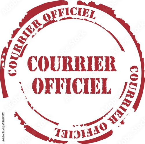 tampon courrier officiel