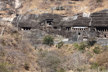Le grotte di Ajanta in India