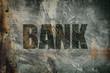 grunge bank