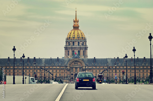 Les Invalides. Paris, France.
