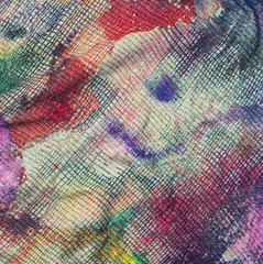 color fabric of textile