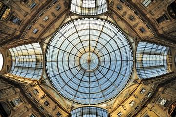 Milano - Galleria Vittorio Emanuele  - la cupola