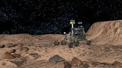 Mondlandung - Mondfahrzeug - Rover