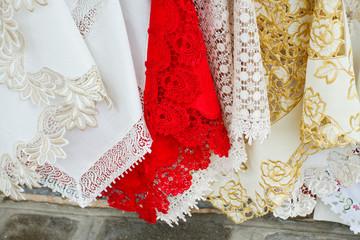 lace in Murano, Venice, Italy