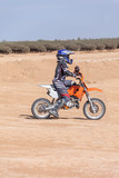 racing motorcycles for teenagers on desert