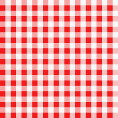 Seamless red and white cloth
