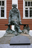 Monument of Pyotr Kropotkin in Dmitrov, Russia
