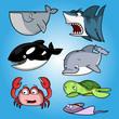 Постер, плакат: oceans fish