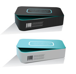 box mock-up