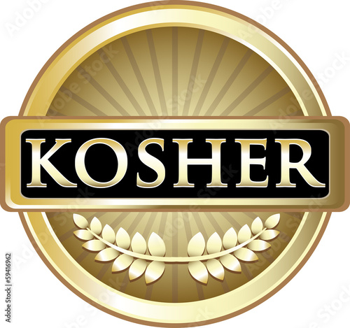 Kosher Product Label
