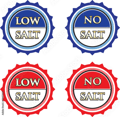 Low And No Salt Tags