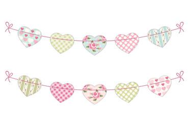 Hearts garland 3