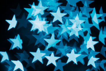 abstract festive stars bokeh