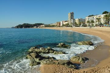 Panorámica playa Lloret de Mar