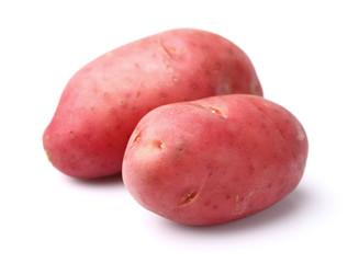 Potato in closeup