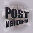 post meridiem on digital touch screen, business concept