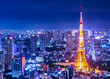 Tokyo Tower and Skyline