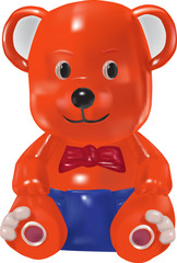 bear vector toy