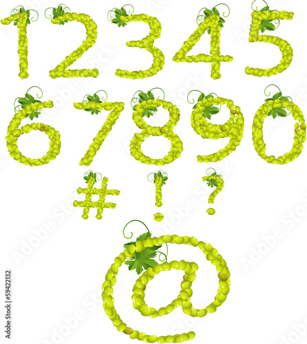 Numbers-Green Grapes