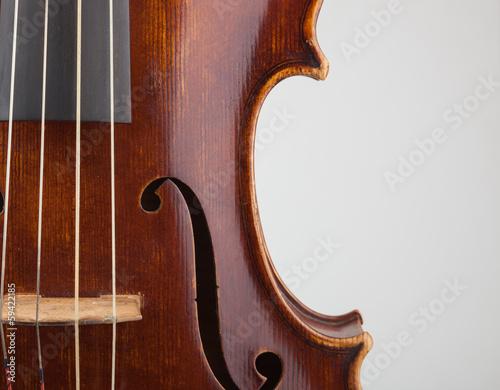 Dettaglio violino