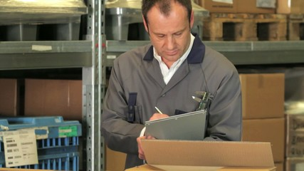 warehouse manager worker