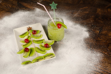 Fruity Christmas dessert