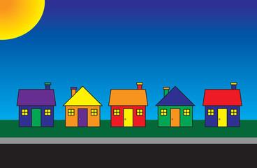 Vibrant Neighborhood