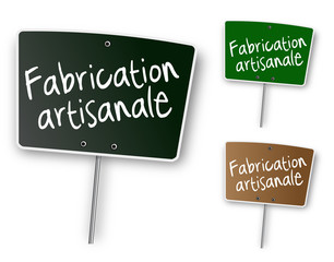 """Ardoise """"Fabrication artisanale"""""""