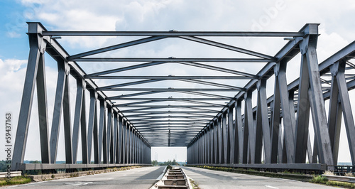 Belgian Truss Bridge